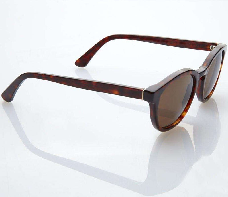 Sunglasses - Premium Bridges Sunglasses In Tortoise Shell With Polarized Lenses By Red's Outfitters