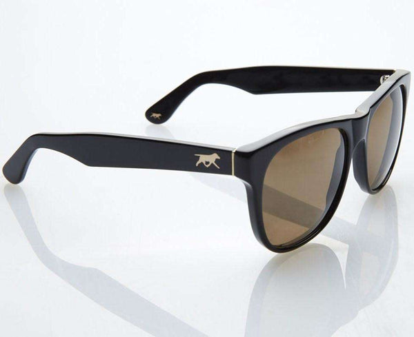 Premium Chapin Sunglasses in Black with Polarized Lenses by Red's Outfitters