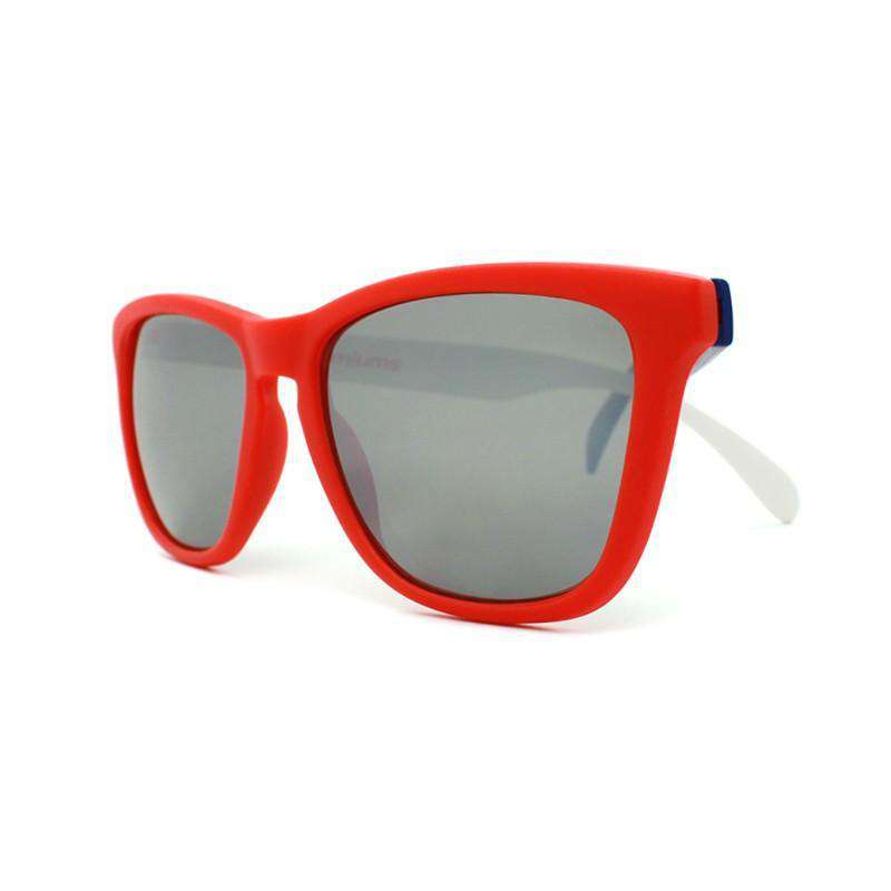 Sunglasses - Red, White & Blue Premium Sunglasses With Smoke Lenses By Knockaround