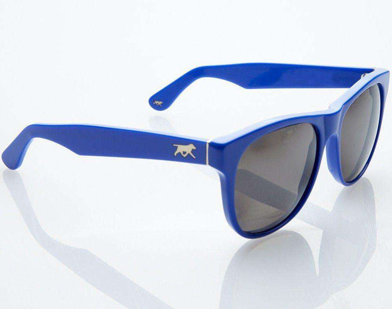 Sunglasses - Sullivan Sunglasses In Colbalt Blue By Red's Outfitters - FINAL SALE