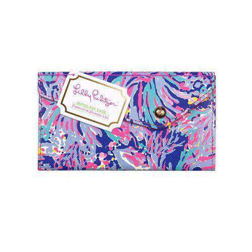 Sunglass Case in Shrimply Chic by Lilly Pulitzer