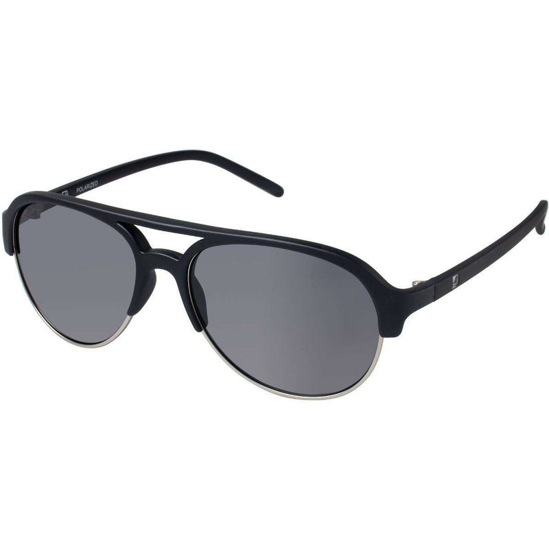 Sunglasses - Sussex Polarized Sunglasses In Black And Gunmetal By Sperry - FINAL SALE