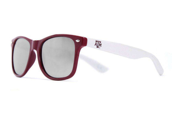 Texas A&M Throwback Sunglasses in Maroon and White by Society43