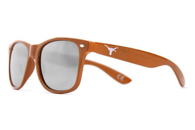 Texas Throwback Sunglasses in Burnt Orange by Society43 - FINAL SALE