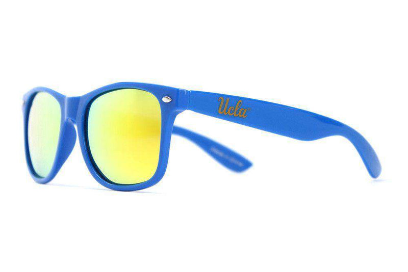 Sunglasses - UCLA Throwback Sunglasses In Blue By Society43