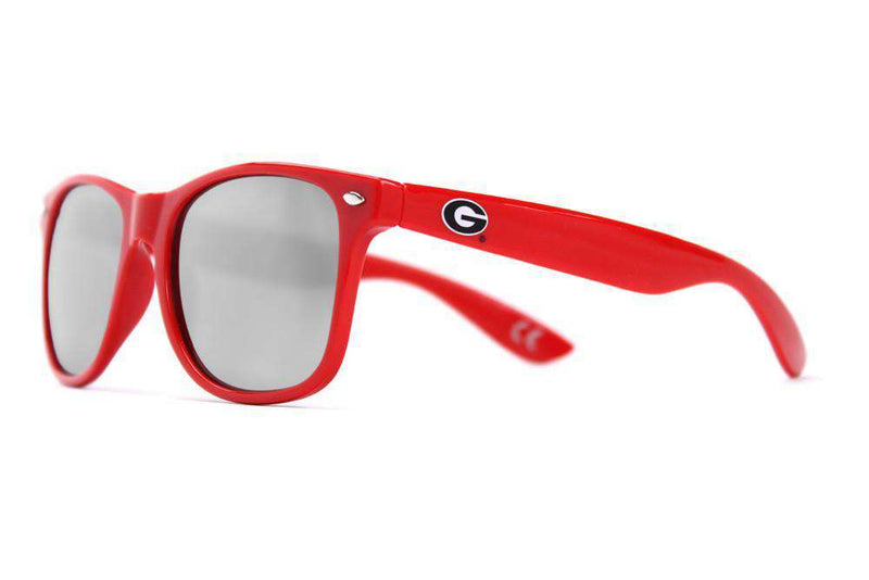 University of Georgia Throwback Sunglasses in Red by Society43