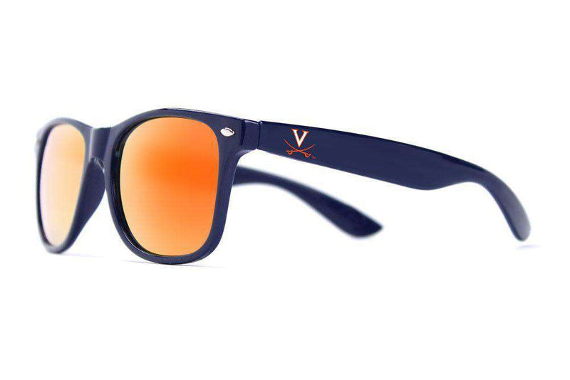 Sunglasses - UVA Throwback Sunglasses In Blue By Society43