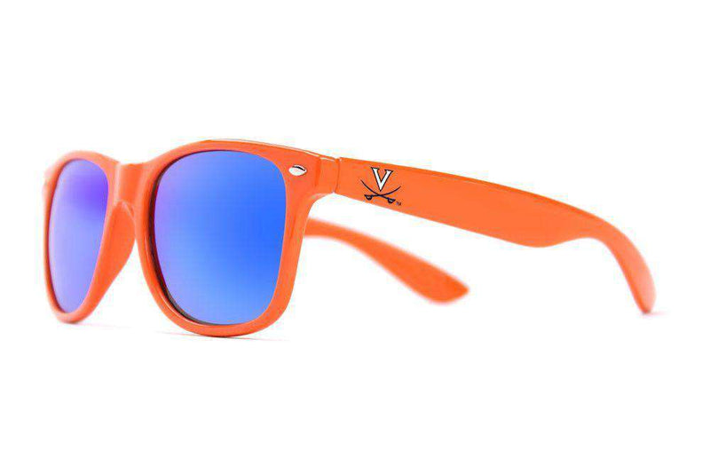 Sunglasses - UVA Throwback Sunglasses In Orange By Society43 - FINAL SALE
