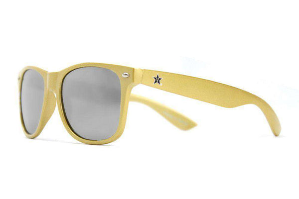 Vanderbilt Throwback Sunglasses in Gold by Society43
