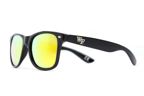 Sunglasses - Wake Forest Throwback Sunglasses In Black By Society43