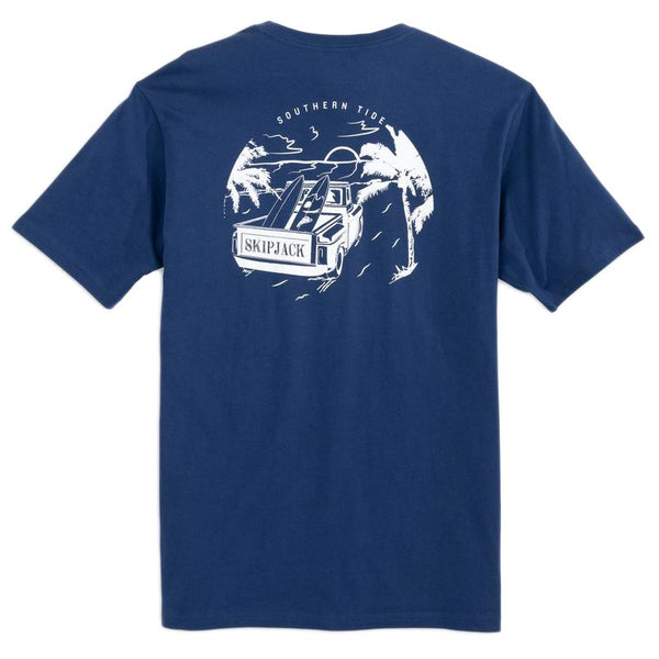 Early Arrival Surf Truck Tee by Southern Tide