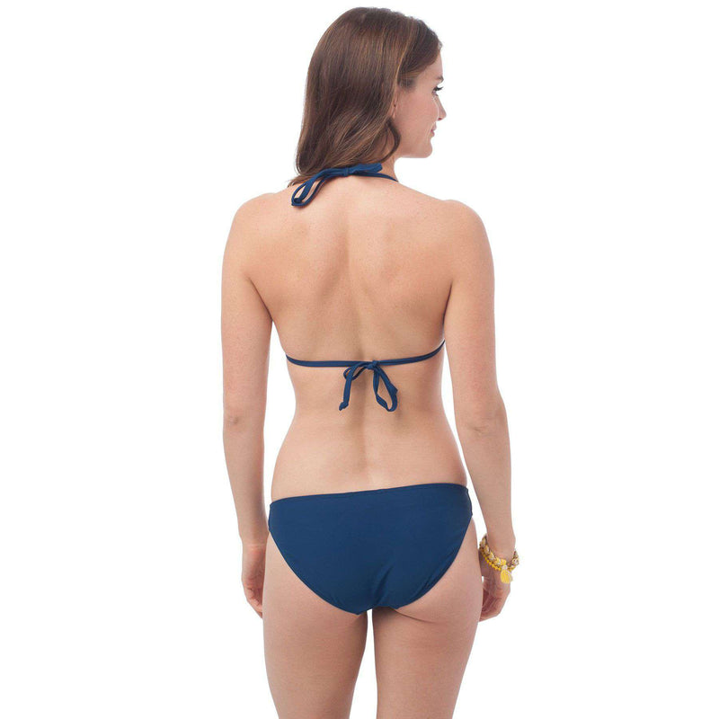 Surfside Bikini Bottom in Yacht Blue by Southern Tide - FINAL SALE