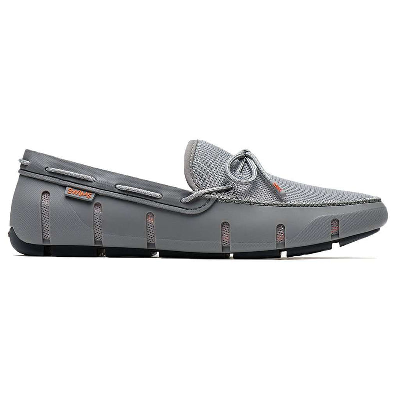 SWIMS Stride Lace Loafer in Gray & Gray Fleck
