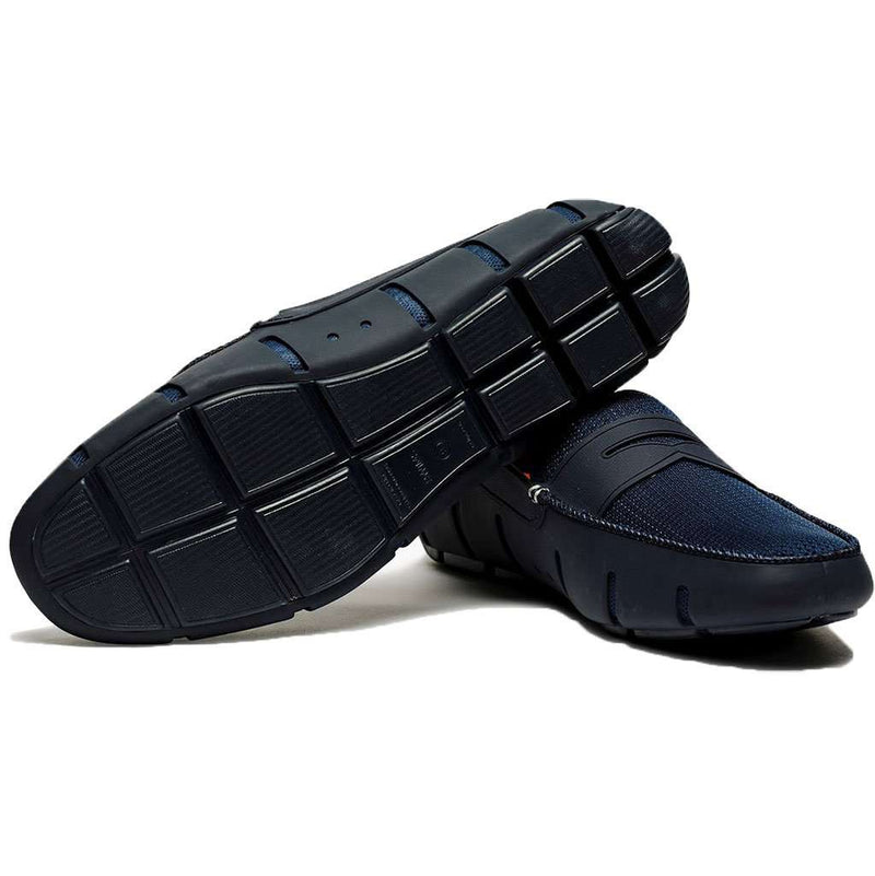 SWIMS Water Resistant Penny Loafer in Navy