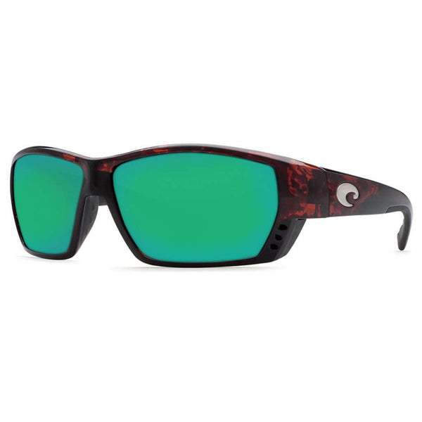 Tuna Alley Sunglasses in Tortoise with Green Mirror Polarized Glass Lenses by Costa del Mar
