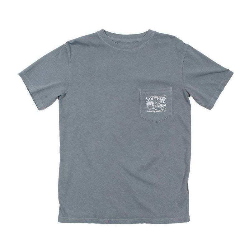 Don't Tread Tee in Chicken Wire Grey by Southern Fried Cotton
