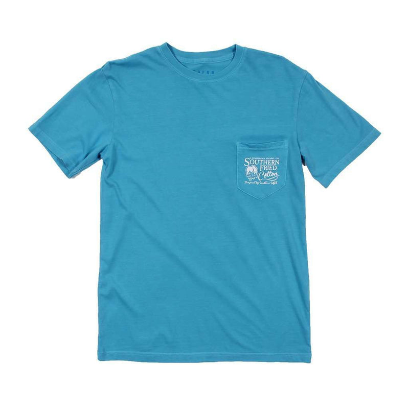 Tubing Tee in Snow Cone Blue by Southern Fried Cotton