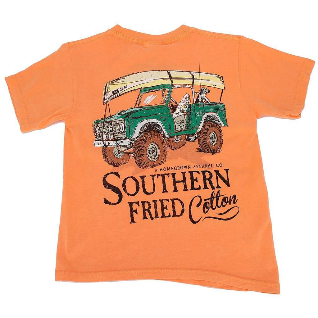 Tee Shirts - Youth It's All Good Tee Shirt In Melon By Southern Fried Cotton