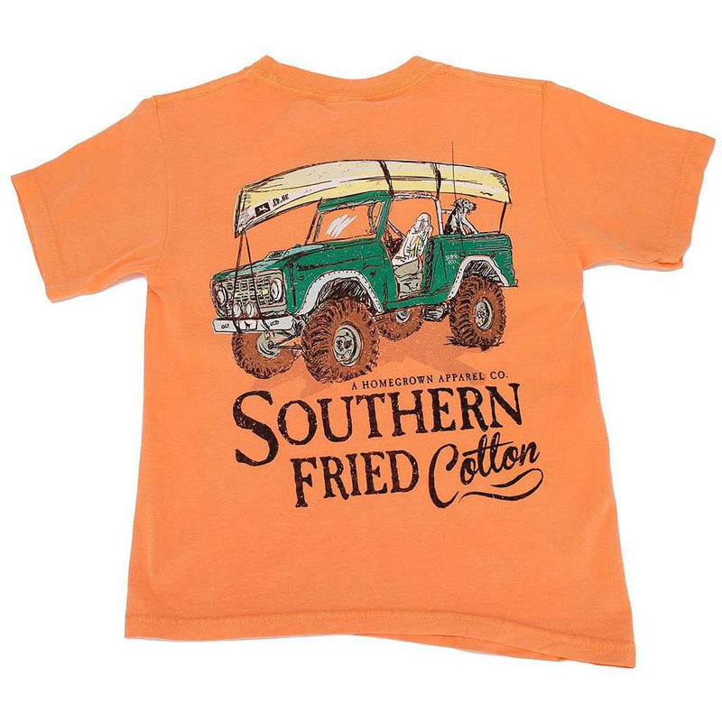 Youth It's All Good Tee Shirt in Melon by Southern Fried Cotton