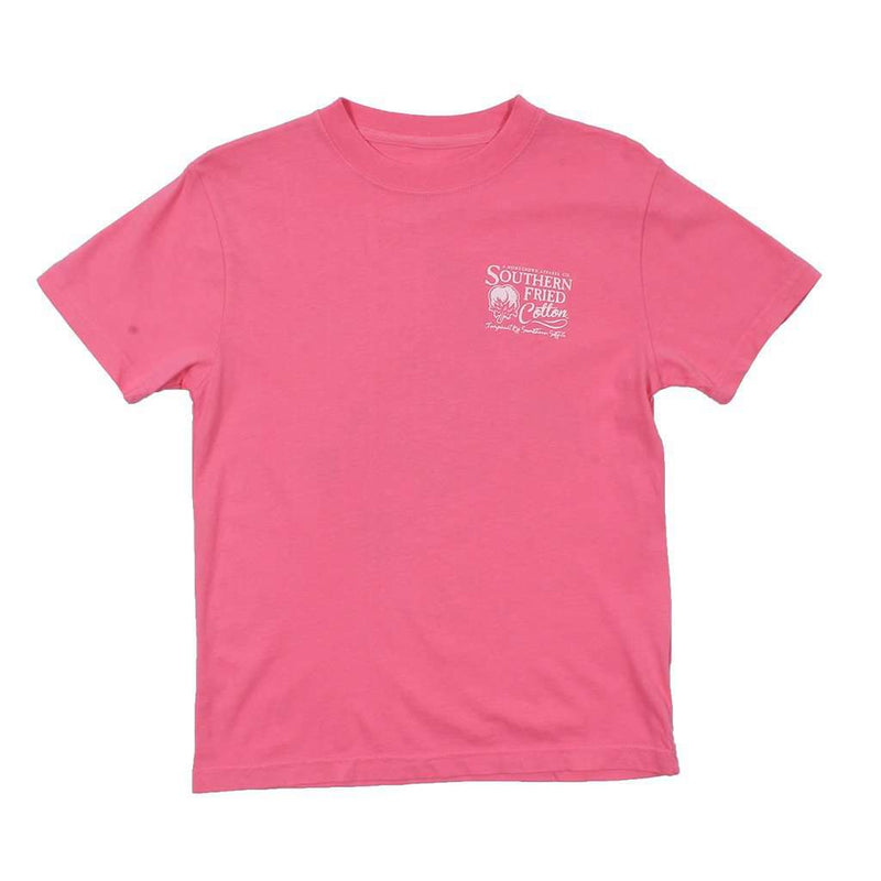 YOUTH Lil' Myrtle The Turtle Tee in Pink Jam by Southern Fried Cotton - FINAL SALE