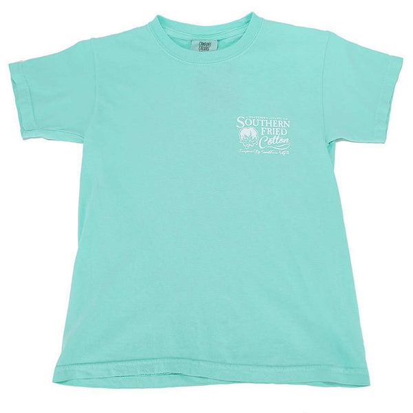 Youth Sucker For The South Tee Shirt in Island Reef by Southern Fried Cotton