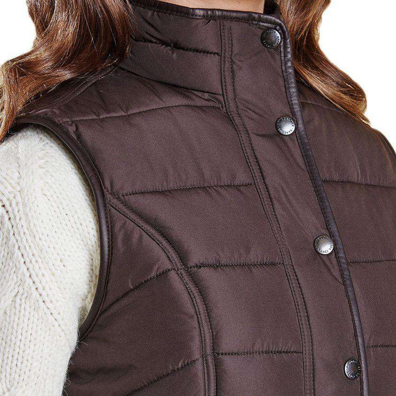 Terrain Gilet in Dark Chocolate by Barbour - FINAL SALE