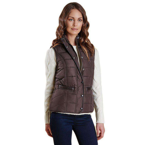 Terrain Gilet in Dark Chocolate by Barbour  - 1