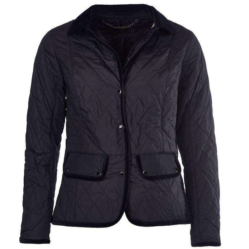 Terrain Quilted Jacket in Black by Barbour - FINAL SALE
