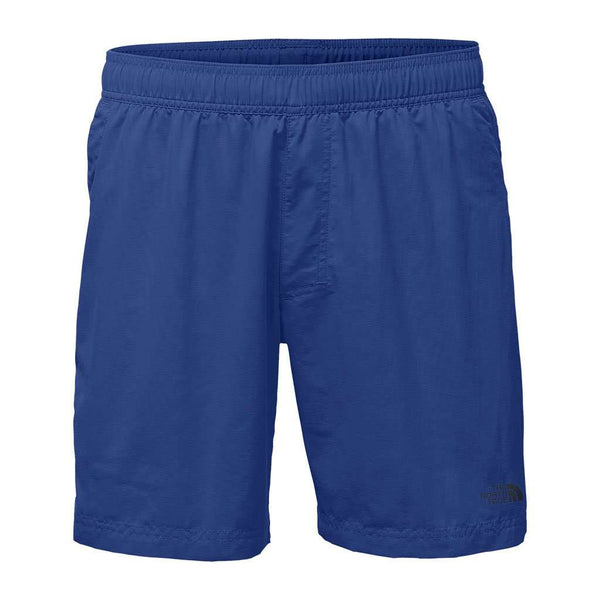 "The North Face Men's 7"" Class V Pull-On Trunks in Brit Blue"