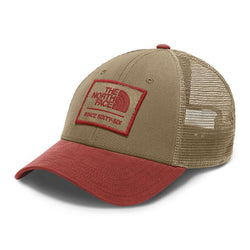 d145246ca96a8 The North Face Patches Trucker Hat in Kelp Tan – Country Club Prep