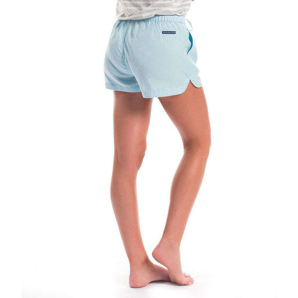 The Southern Shirt Co. Cassie Shorts in Crystal Blue by The Southern Shirt Co.