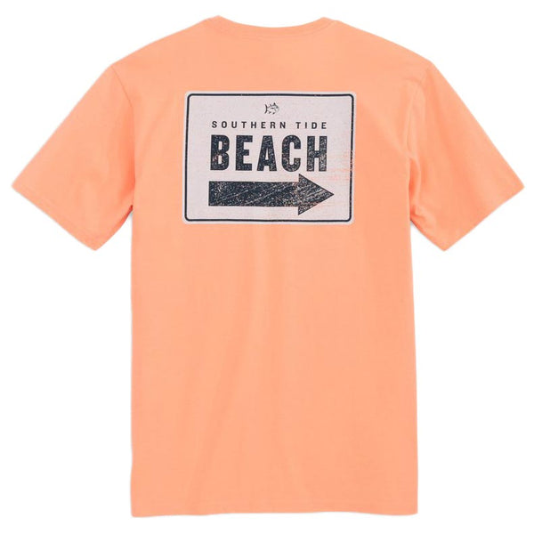 This Way to the Beach Tee Shirt by Southern Tide