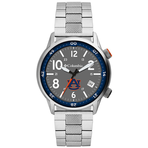 Auburn Outbacker 3-Hand Date Stainless Steel Watch by Columbia Sportswear