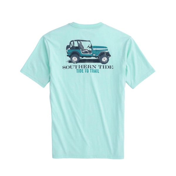 Tide to Trail Tee Shirt by Southern Tide