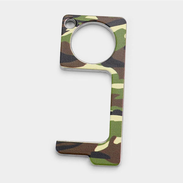 Camo Touchless Key Chain by Queen Designs