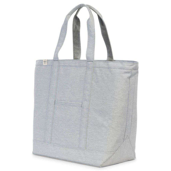 Bamfield Mid Volume Tote in Light Grey Crosshatch by Herschel Supply Co. - FINAL SALE