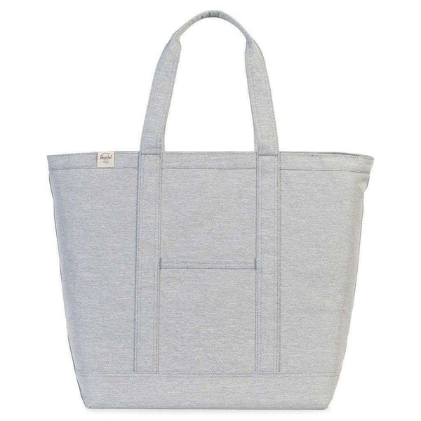 Tote Bags - Bamfield Mid Volume Tote In Light Grey Crosshatch By Herschel Supply Co. - FINAL SALE