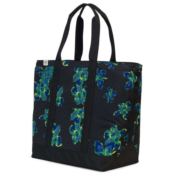 Bamfield Mid Volume Tote in Neon Floral by Herschel Supply Co. - FINAL SALE