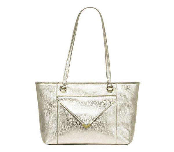 Celeste Leather Tote in Platinum by Jack Rogers