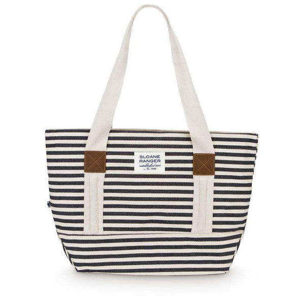 Denim Stripe Tote Bag by Sloane Ranger