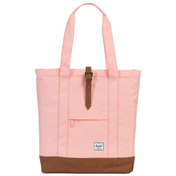 Market Tote in Apricot Blush by Herschel Supply Co. - FINAL SALE