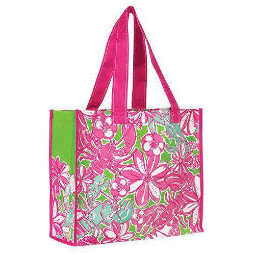Tote Bags - Market Tote In Coronado Crab By Lilly Pulitzer
