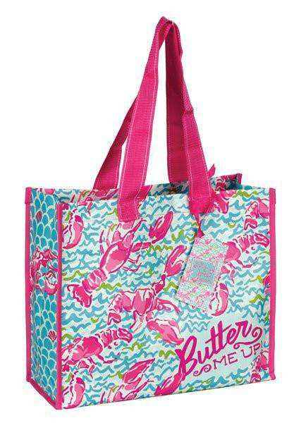 Market Tote in Lobstah Roll by Lilly Pulitzer