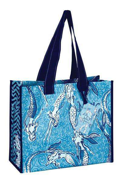 Tote Bags - Market Tote In Nice Tail By Lilly Pulitzer