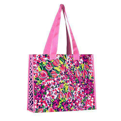 Tote Bags - Market Tote In Wild Confetti By Lilly Pulitzer