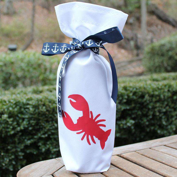 Wine and Spirit Bag featuring Red Lobster by Skipper Bags