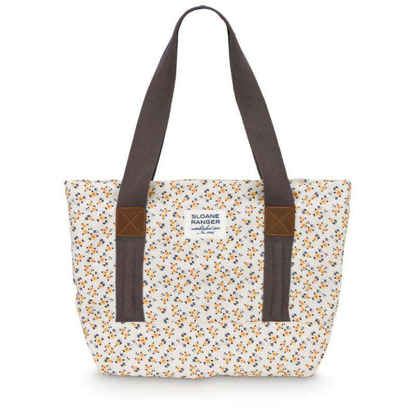 Yellow Ditzy Tote Bag by Sloane Ranger