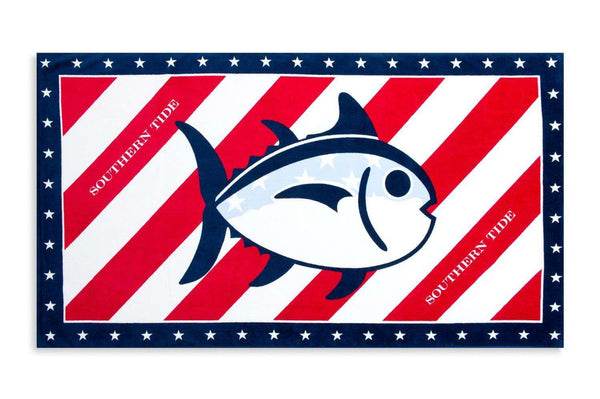 Independence Day Beach Towel by Southern Tide