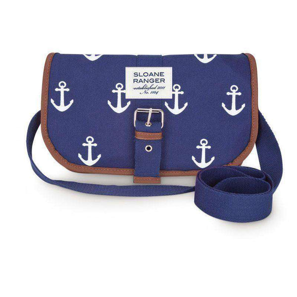 Travel & Gym - Anchor Saddle Crossbody Bag By Sloane Ranger