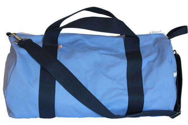 Travel & Gym - Biscayne Weekend Duffel In Blue By Hudson Sutler